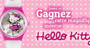 Gagner la montre Hello Kitty