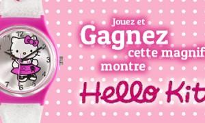 Gagner la montre Hello Kitty