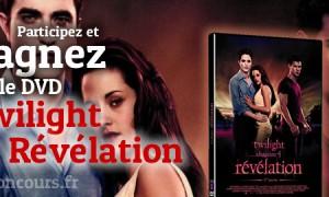 Jeu Concours Twilight Chapitre 4 : Révélation