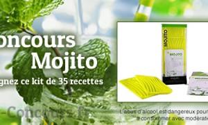Concours mojito – Kit de 35 recettes