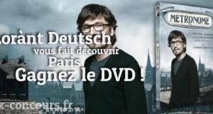 Explorez Paris avec Lorànt Deutsch et le DVD Métronome