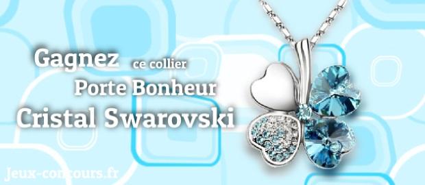 Concours Porte Bonheur En Cristal Swarovski