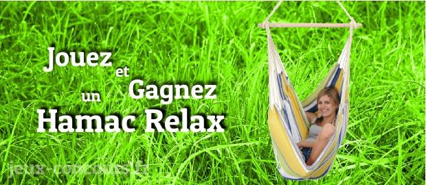 Gagnez un Hamac Relax Colibri