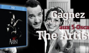 Gagnez le Blu Ray de The Artist
