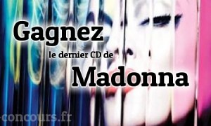 Concours CD édition Deluxe de Madonna