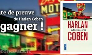 Concours Faute de Preuves de Harlan Coben