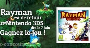 Gagnez le jeu Rayman Origins sur Nintendo 3DS
