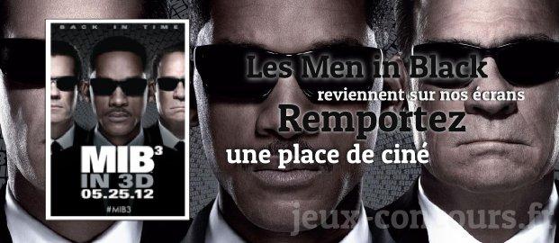 Concours : Place pour le film Men in Black 3