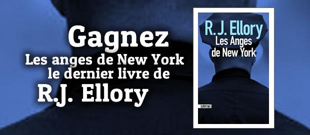 Concours Les Anges de New York de R.J. Ellory