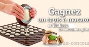 Concours : Tapis à Macarons Lékué
