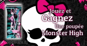 Concours : Monster High