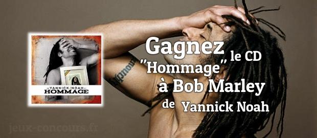 Gagnez le CD Hommage à Bob Marley de Yannick Noah