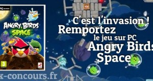 Le Jeu PC Angry Birds Space envahit vos ordinateurs !