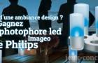 Créez une ambiance design en gagnant un photophore led Imageo de Philips