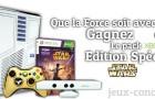 Qui va remporter le super pack Xbox 360 édition Spéciale Star Wars ?