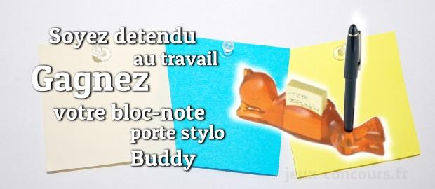 Gagnez votre organisateur de bureau dr le et original le bloc notes porte stylo buddy - Bureau des concours aphp ...