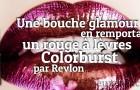 Bouche à croquer : rouge à lèvres Colorburst de Revlon