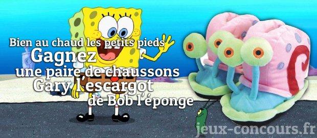 Bob l ponge jeux concours - Gary l escargot ...