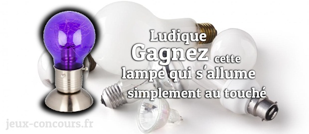 la lumi re au bout des doigts avec la lampe ampoule tactile. Black Bedroom Furniture Sets. Home Design Ideas