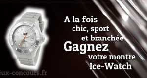 Envie d'une Ice-Watch ?