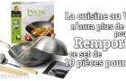 Cuisinez sainement avec votre set Wok