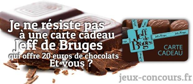 Carte Cadeau Jeff De Bruges.Gagnez 20 Euros De Carte Cadeau Jeff De Bruges Miam