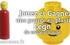 Gagnez la gourde Lego rouge, un cadeau original !