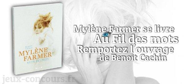 Concours : Au fil des mots de Mylène Farmer