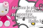Remportez une Peluche Hello Kitty