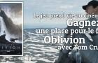 Gagnez une place pour Oblivion avec Tom Cruise