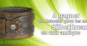 Concours : Bracelet SilberDream en cuir pour homme