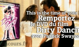 Gagnez le DVD de Dirty Dancing !!!