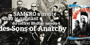 Sons of Anarchy Saison 4 en BluRay à gagner
