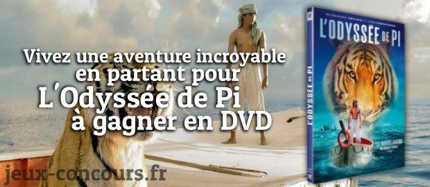 L'odyssée de Pie en DVD sur jeux-concours.fr