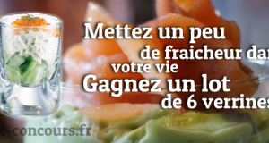 Gagnez un Lot de 6 Verrines