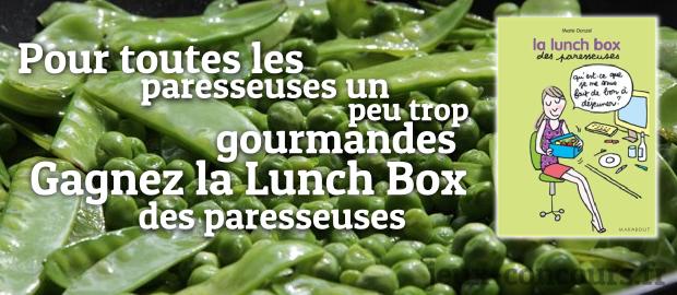 La lunch box des paresseuses gagnez - Cuisiner la veille pour le lendemain ...