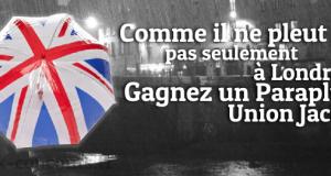 Gagnez un Parapluie Union Jack