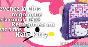 Remportez un Sac à Dos Hello Kitty