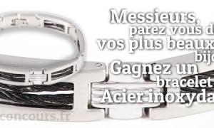 Gagnez un Bracelet en Acier Inoxydable