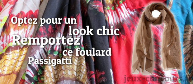 Gagnez un Foulard Passigatti