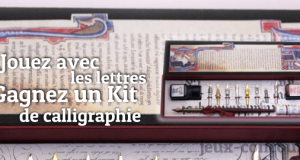 Un Kit de Calligraphie en Jeu