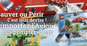 L'Avion des Pompiers Lego à Remporter