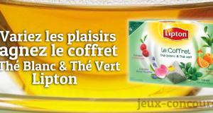 Gagnez un Coffret de thé Lipton