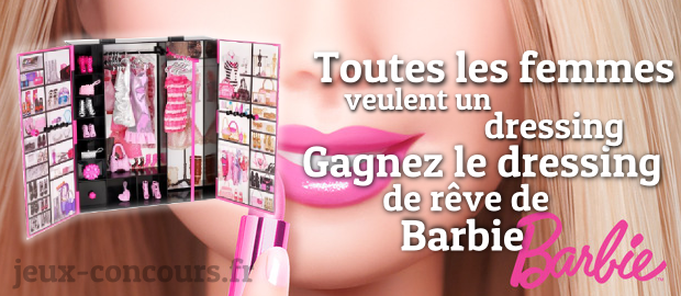 gagnez le dressing de r ve barbie. Black Bedroom Furniture Sets. Home Design Ideas