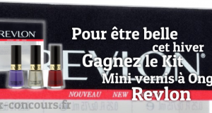 Gagnez un Kit Mini Vernis à Ongles Revlon