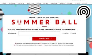 Concours Séphora Summer Ball