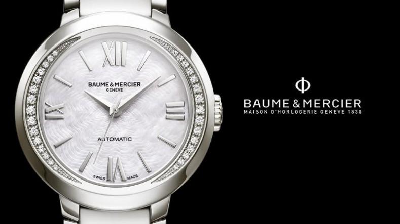 Une montre Baume & Mercier